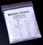 モハーン ヴィーナ(Mohan Veena)の弦セットの商品写真
