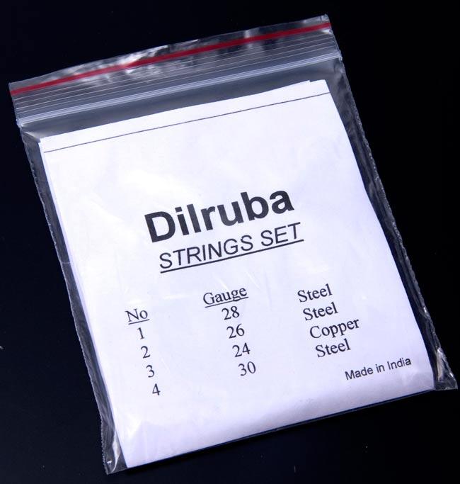 ディルルバ(Dilruba)の弦セットの写真