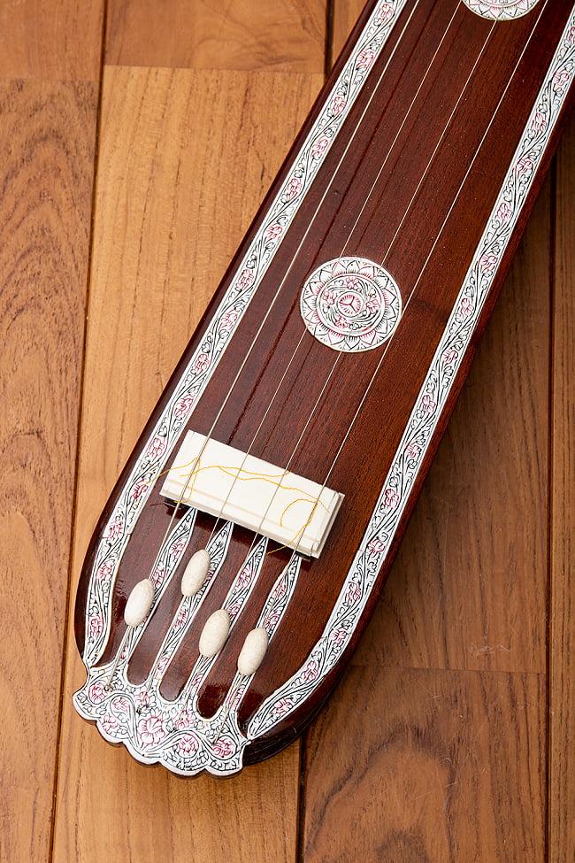 【PALOMA】楽器用 ボックス・タンプーラ・スペシャル 4 - ボディエンド周辺です。