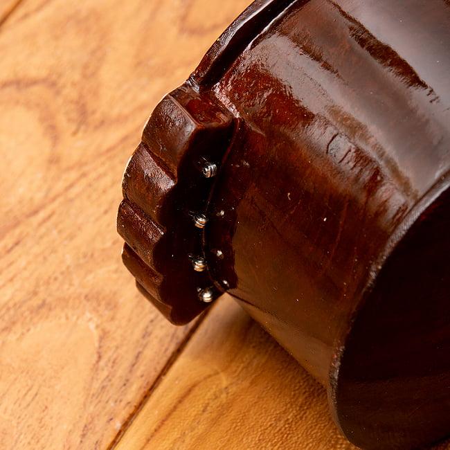 【PALOMA】楽器用 ボックス・タンプーラ・スペシャル 6 - ボディ裏側から弦を通します。