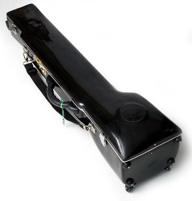 【Kartar Music House社製】ディルルバ(Dilruba) 11 - この様なハードケースに入れてお届けします