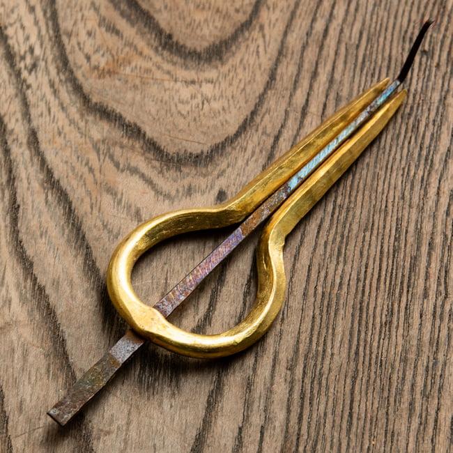 ネパールの真鍮製口琴[約9.5~10cm]の写真3 - 別のサイズの一覧です。各サイズごとに用意した商品ページからご購入いただけます。