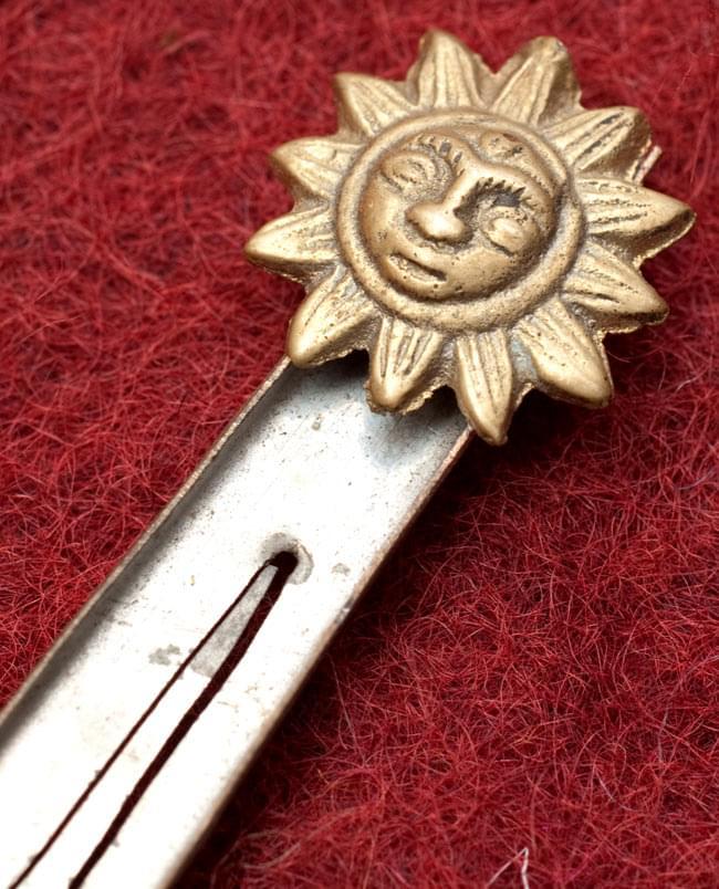 ネパールの真鍮製ベトナム式口琴 - [約9.5cm]の写真2 - 拡大写真です