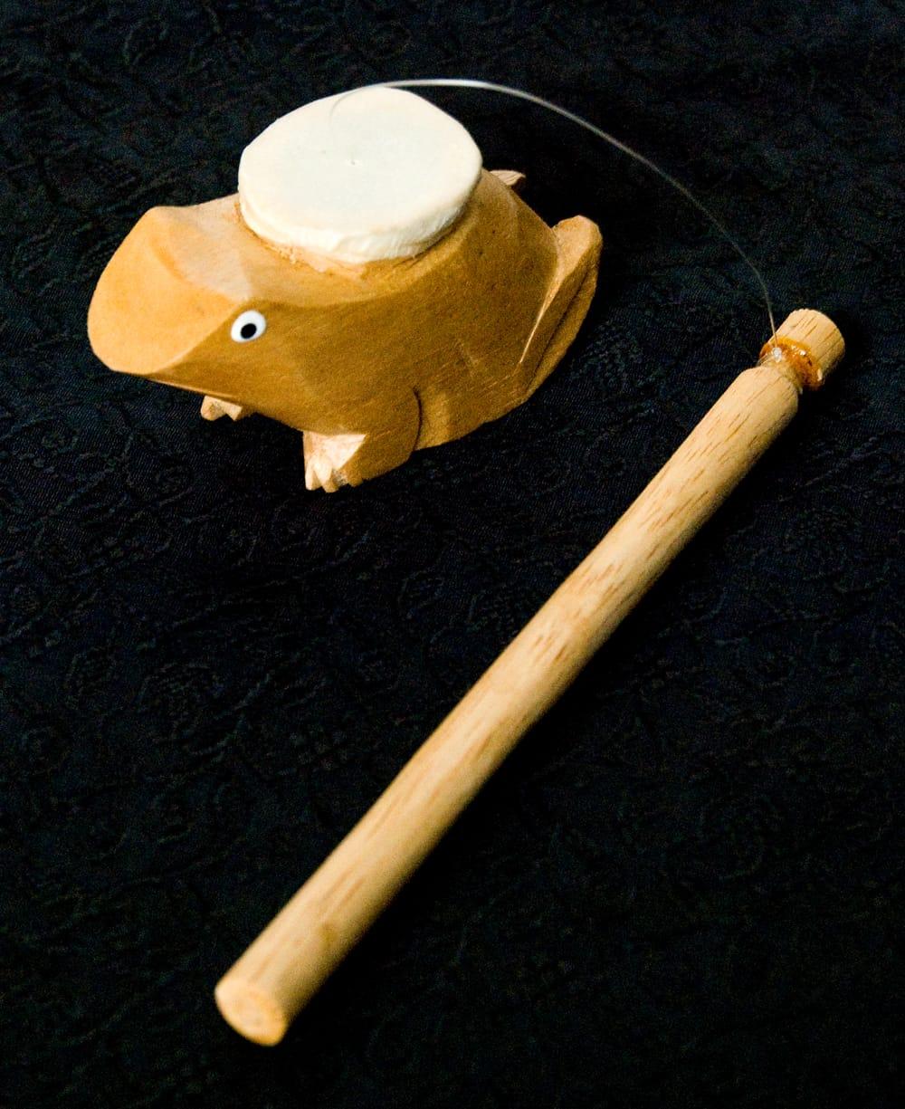 ゲロゲロ笛【カエル】 2 - 全体像です。