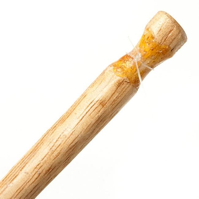 ゲロゲロ笛【カエル】 5 - 棒を拡大してみました
