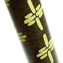 レインスティック (100cm、PVC【伝統模様】)の写真 - 拡大写真です。