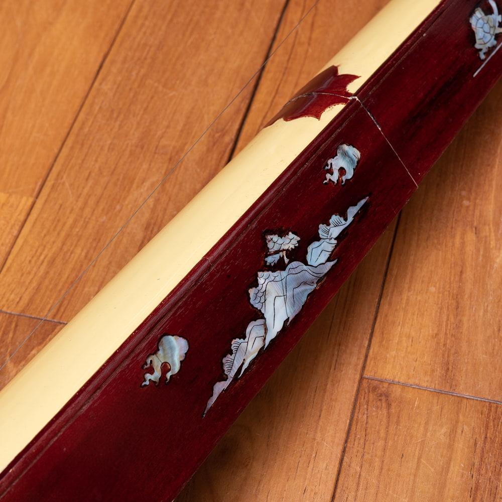 ベトナムの一弦琴 ダン・バウ −良品質 6 - 美しい装飾です。
