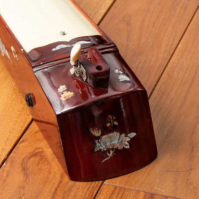 ベトナムの一弦琴 ダン・バウ 通常品(大) 2 - 音色の要となる部分です。