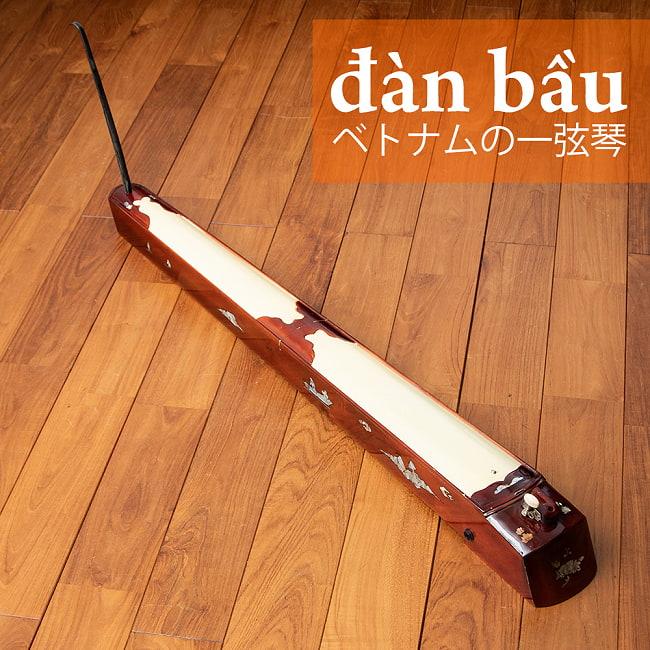 ベトナムの一弦琴 ダン・バウ 通常品(大)の写真