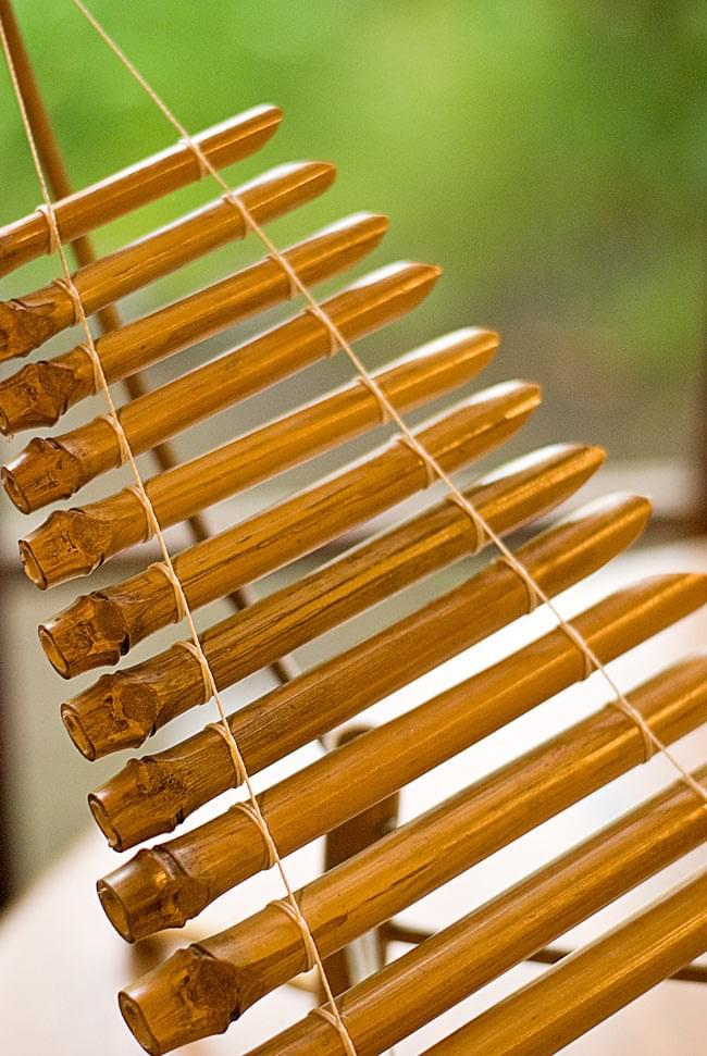 ベトナムのミニ竹琴(ダン・トルン) 2 - 打面を見てみました。