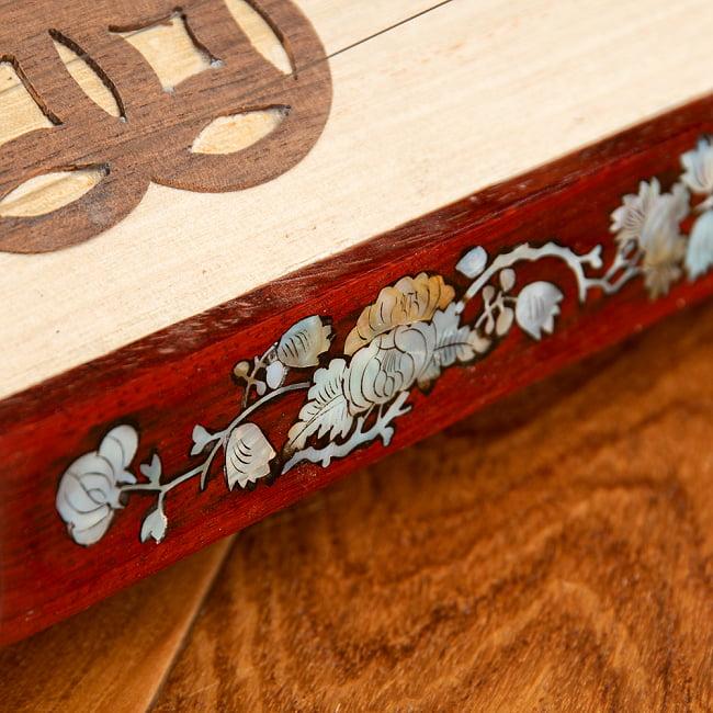 ベトナムの琴(ダン・トラン) 7 - 模様が素敵です