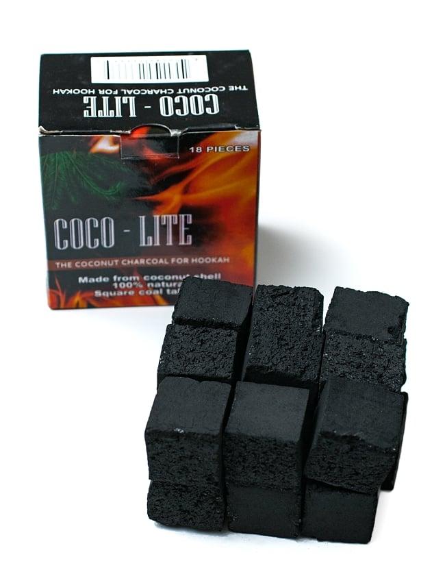 シーシャの炭 COCO LITE COAL - 18個入りの写真