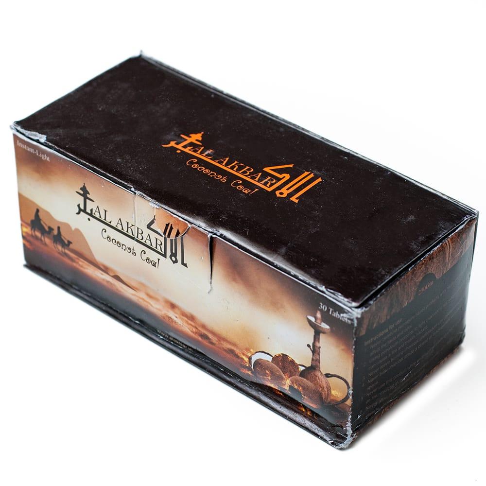 シーシャの炭 COCONUT COAL - 30個入り 2 - パッケージ写真