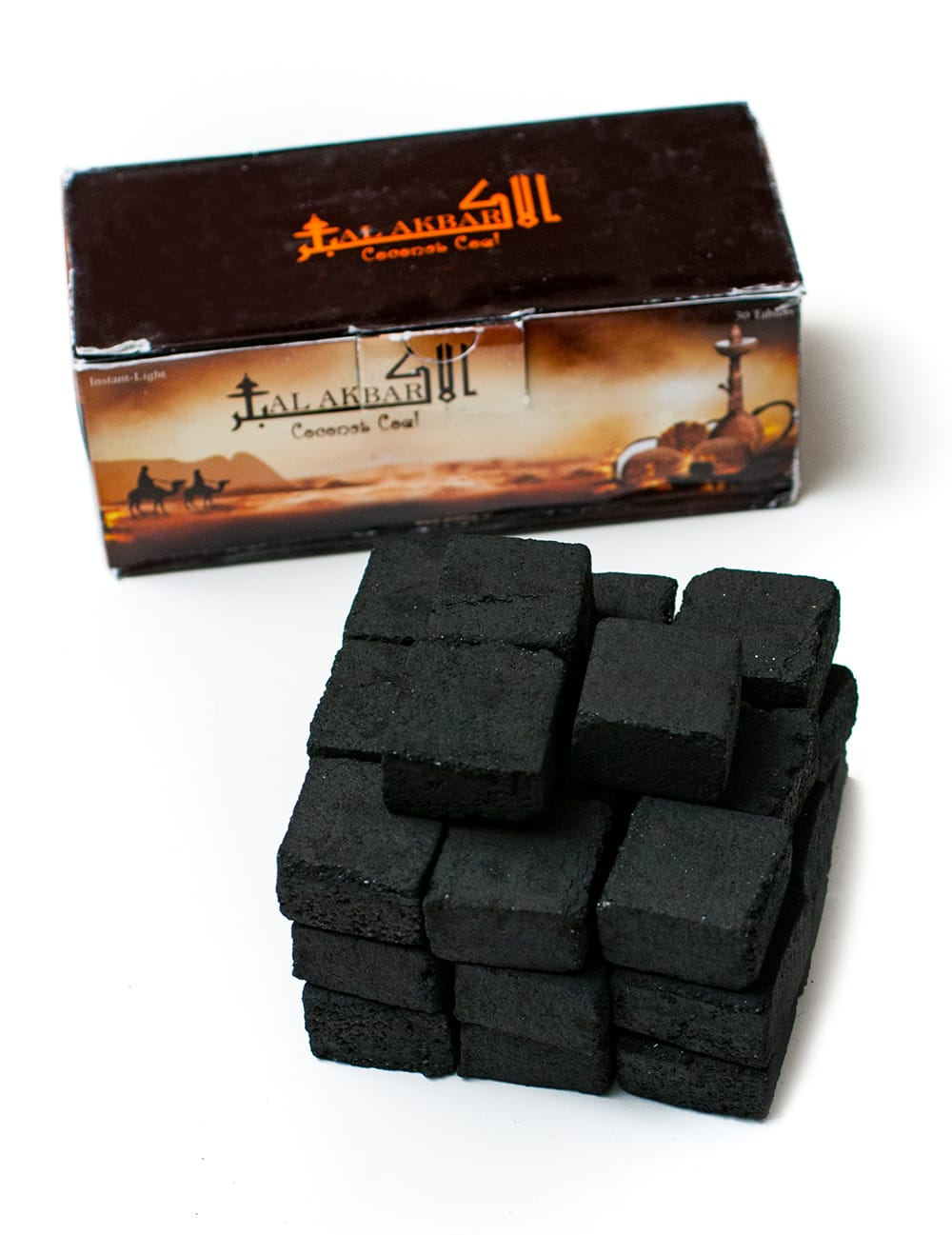 シーシャの炭 COCONUT COAL - 30個入りの写真