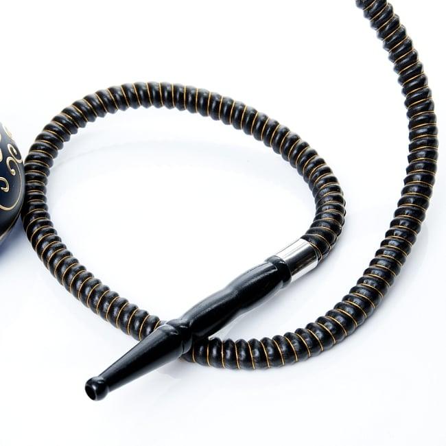 シーシャ(水タバコ)黒 【約29cm】の写真6 - この様な簡易用トングも付属されております。