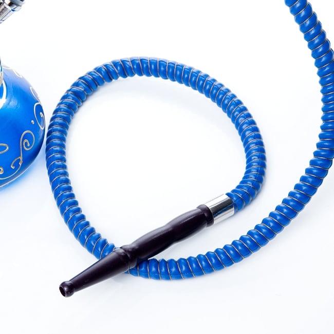 シーシャ(水タバコ)青 【約31cm】の写真6 - この様な簡易用トングも付属されております。