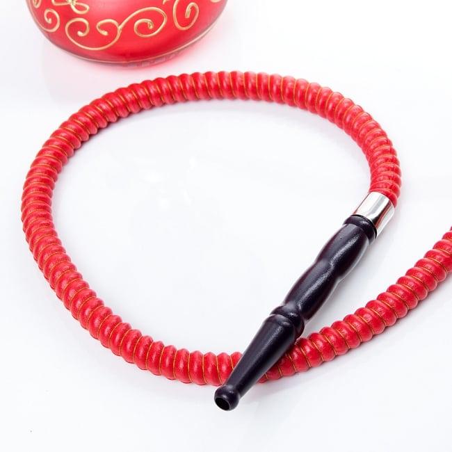 シーシャ(水タバコ)赤 【約29cm】の写真6 - この様な簡易用トングも付属されております。