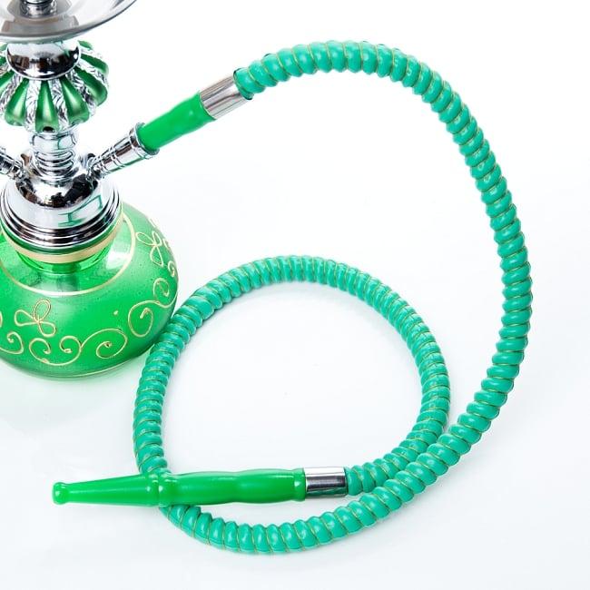 シーシャ(水タバコ)緑 【約31cm】の写真6 - ホースはこのようになっております。(以下は同ジャンル品の写真です。)
