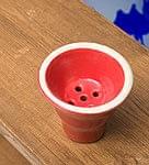 【選べる4色!】シーシャ用カラークレイトップ - 小