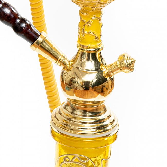 シーシャ(水タバコ) 黄 【約82cm】 4 - ボトルとの接合部分の様子です。