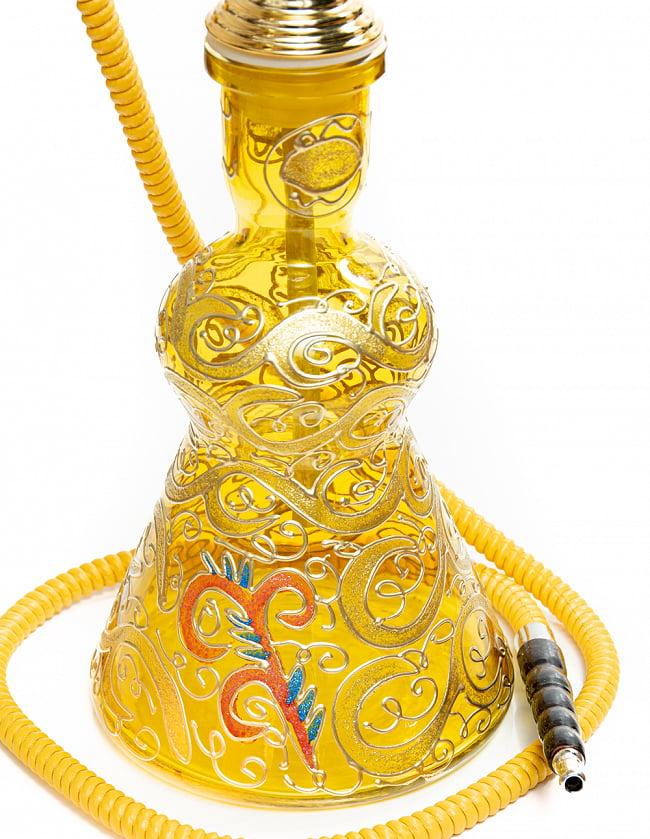 シーシャ(水タバコ) 黄 【約82cm】 5 - ボトルの拡大写真です