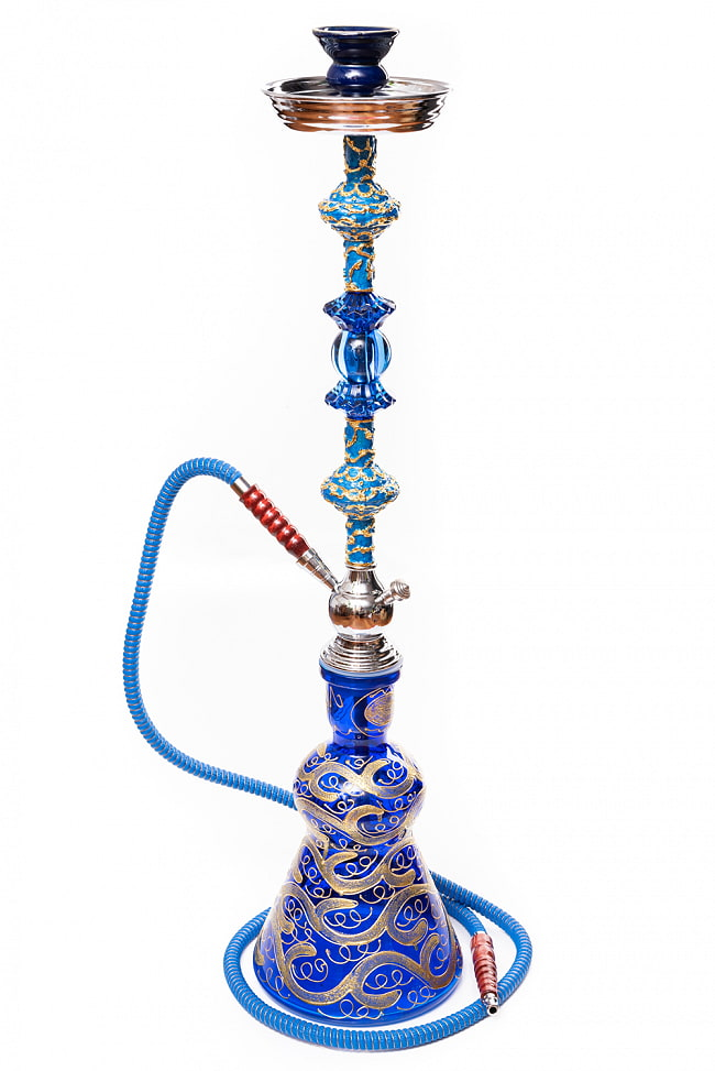 シーシャ(水タバコ) 青 【約82cm】の写真