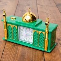 アザーン目覚まし時計−モスク-緑