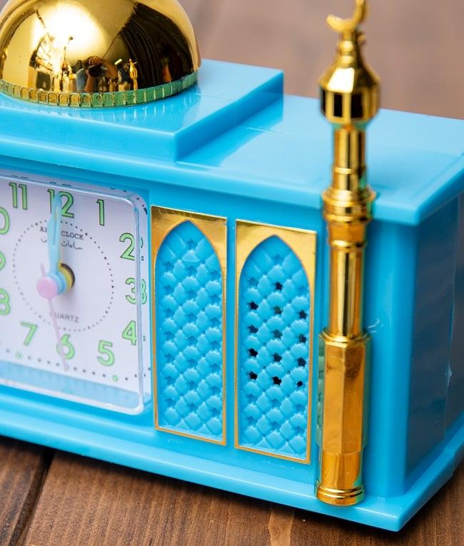 アザーン目覚まし時計−モスク-青 4 - 角度を変えてみてみました
