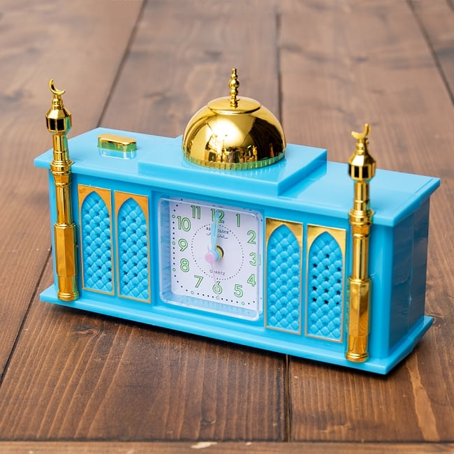 アザーン目覚まし時計−モスク-青 1