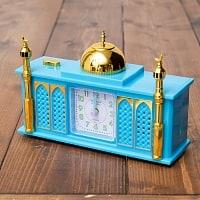 アザーン目覚まし時計−モスク-青