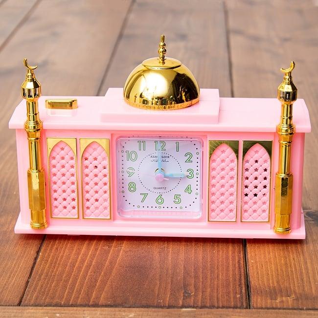 アザーン目覚まし時計−モスク-ピンク 3 - 正面から撮ってみました。