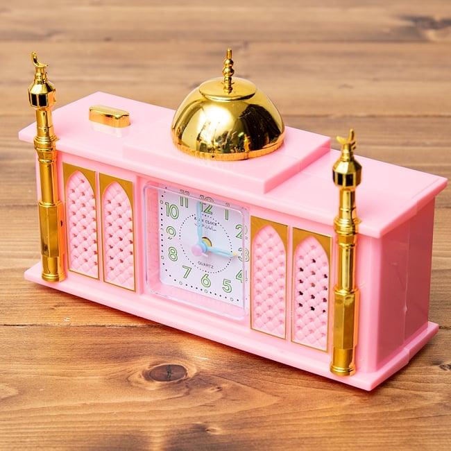 アザーン目覚まし時計−モスク-ピンクの写真