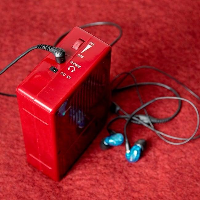 ブッダマシン どこでもいつでもお経が聞ける スピーカー内臓の自動読経機の写真6 - なんとイヤホンも接続できます。一人お経を聞くことも可能!(写真のイヤホンは付属いたしません。)