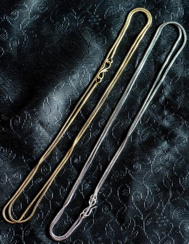 ペンダントトップ用チェーン(長さ78cm)の写真