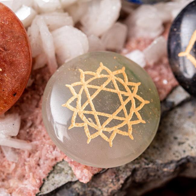 チャクラストーン チャクラヒーリングに使われる天然石パワーストーン7個セット 6 - 第4チャクラ 心臓(Heart Chakra) ストーンの例:アベンチュリン/グリーンカルサイト/グリーンジェイド等