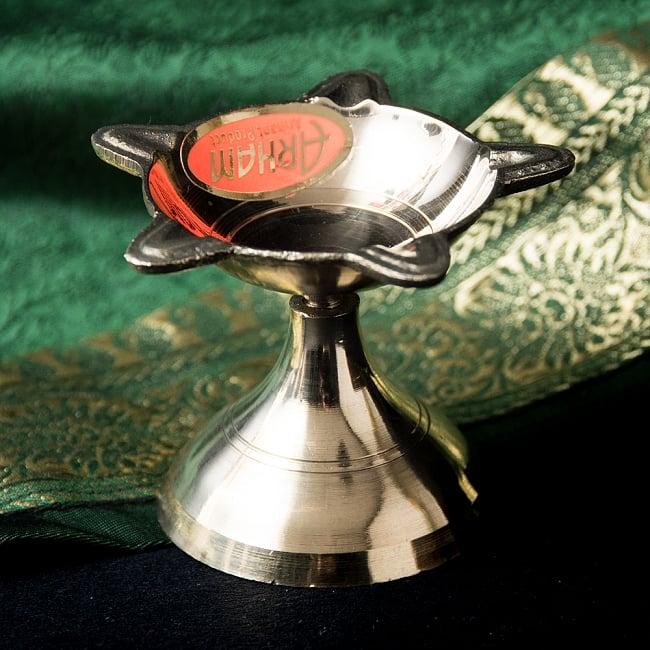 ブラスのオイルランプ(4.5cm)の写真
