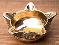 ブラスのオイルランプ(小6cm)