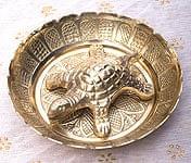 インド風水のプレート(kachwa plate) - 約10cm