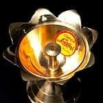 蓮型オイルランプ&香立て(5c