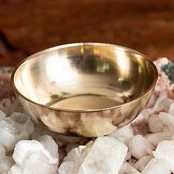 インドの礼拝用 ブラスボウル【直径:約5.5cm】