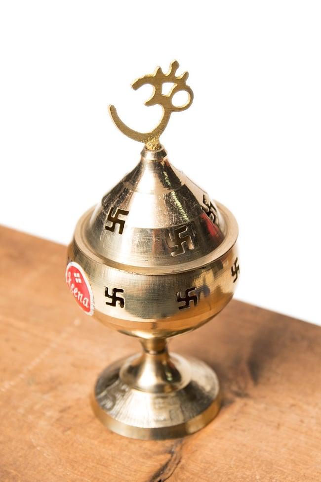 オーンと卍のランプシェード 【13cm】の写真
