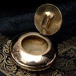 ブラスの円形灰皿[6cm]