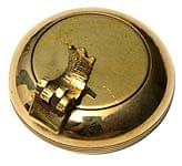 ブラスの円形灰皿[4cm]