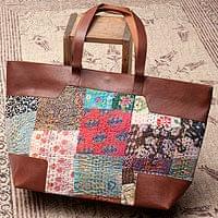 【一点物】伝統を紡いだ ラリーキルトのトラベルバッグ