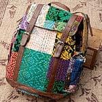 〔一点物〕伝統を紡いだラリーキルトのバッグパック