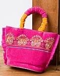インドのゴージャスハンドバッグ - ペイズリー
