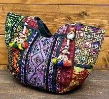 【一点物・アンティーク】アフガニトートバッグ-Mサイズ