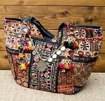 【一点物・アンティーク】アフガニトートバッグ-Lサイズの商品写真