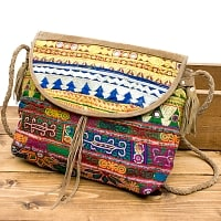 【一点物】アフガニショルダーバッグ-Lサイズ