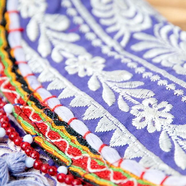 【ブラック系】選べるデザイン!カッチ刺繍のスクエアポシェット 3 - こちらよりお選び下さい。